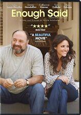 ENOUGH SAID (DVD 2014) JULIA-LOUIS DREYFUS / JAMES GANDOLFINI (NEW, SEALED)