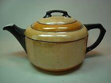 Art Deco 1920s 30s Iridescent Porcelain Tea Pot