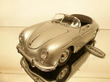 KYOSHO 7007 PORSCHE 356A 1600 SPEEDSTER - SILVER 1:18 -  VERY GOOD CONDITION