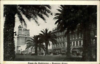 Buenos Aires Argentinien Argentina 1928 Casa de Gobierno Straßenpartie gelaufen