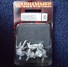 2001 Skaven Warlock Engineer 2 Chaos Ratmen Citadel Command Lords & Heroes MIB