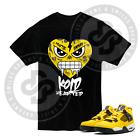 Kold Hearted T Shirt for Jordan 4 Lightning Tour Yellow Thunder All Sizes Sm -7X
