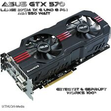ASUS NVIDIA GeForce GTX 570 (1280 MB) GRAFIKKARTE - GRAPHIC CARD..