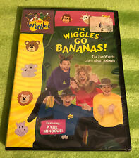 The Wiggles - The Wiggles Go Bananas (DVD, 2009) BRAND NEW