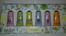 Crabtree & Evelyn 6 piece Hand Therapy set Kit Iris Lily Rosewater Blue Honey