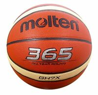 Molten GH7X Basketball Size 7 Mens 365 All Year Tan Indoor/Outdoor Basket ball