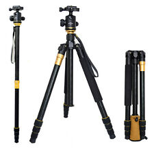 Professional Q-999 SLR Camera Tripod Monopod & Ball Head Portable Compact Travel
