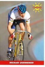 CYCLISME carte cycliste MICKAEL QUEMENER équipe COFIDIS 1999