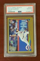 🔥🔥 2014 Topps Update GOLD RC Jacob deGrom ROY Mets TOUGH PSA 10 GEM MT🔥🔥