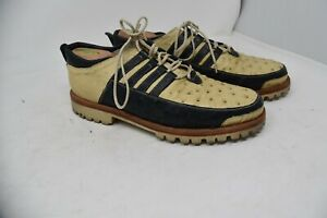 Maxleather Ostrich Shoes MEN'S SZ 9.5 fit US 10