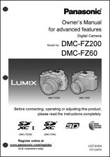 Panasonic Lumix DMC-FZ200 FZ60 Basic Camera User Guide Instruction Manual