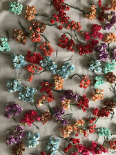 Lot Of  Multi Colors paper flower decorations