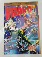 WIZARD Comics Magazine #17 Jan 1993 ORIGINAL DAVE LAPHAM VALIANT COVER & POSTER