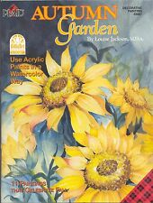 AUTUMN GARDEN  by Louise Jackson M.D.A. (CLEARANCE was  $24.95)
