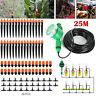 DIY 25m Dripper Plant Self Watering Garden Hose Micro Drip Irrigation System Kit