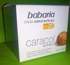 BABARIA CREMA FACIAL EXTRACTO DE BABA DE CARACOL 24H PROTECCION SOLAR NUTRITIVO