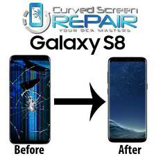 Samsung Galaxy S8 Bad Faulty Cracked LCD Repair Replacement Mail In Service
