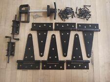 Shed Double Door Hardware Kit-T-handle, barrel bolt 6