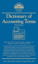 Barron's Business Dictionaries: Dictionary of Accounting Terms by Joel G. Siegel
