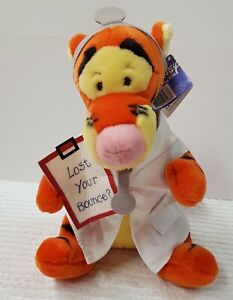 Tigger plush toy, lost your bounce Dr outfit 39cm