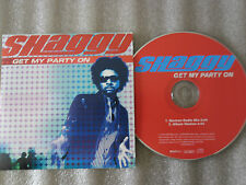 CD-SHAGGY-GET MY PARTY ON-FEAT.CHAKA KHAN/LADY RAW/NEW YORK-(CD SINGLE)03-2TRACK
