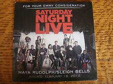 SATURDAY NIGHT LIVE EMMY DVD MAYA RUDOLPH & SLEIGH BELLS 2013 FYC