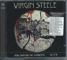 Virgin Steele - House Of Atreus Act II (2CD 2001) NEW/SEALED