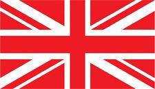 Union Jack Drapeau Autocollants-Lot de Six 50 mm x 26 mm-Petit