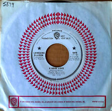 LORRAINE ELLISON - A GOOD LOVE b/w I'M OVER YOU - WLP 45