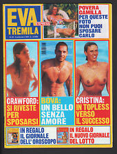 EVA 3000 35/1997 CRISTINA QUARANTA RAOUL BOVA KELLY FISHER STEVEN SEGAL CRAWFORD