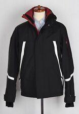 Bogner Fire + Ice Parka Mantel Ski Coat Gr 50 Schwarz Black Skijacke Rot Red Win