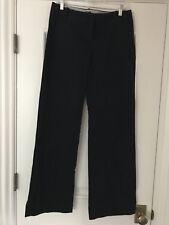 J.CREW FACTORY Lightweight City Fit Wide Leg Chino Pants Black 6R