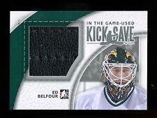 2013-14 ITG-Used  Kick Save  Ed Belfour  Pad  KS-04  Silver  /20