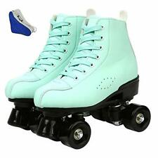 New listing XUDREZ Roller Skates for Women Classic Roller Skates PU Leather High-top Roll...