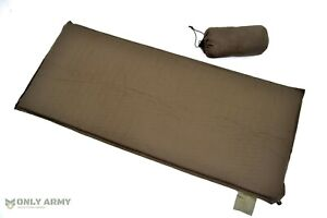 British Army Issue Self Inflating Roll Mat 3/4 Length Sleeping Floor Mat Camping
