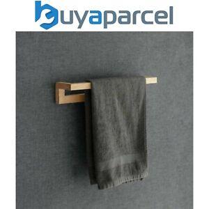 Southbourne Wooden Beech Bathroom Cloakroom Single Towel Rail Bar Holder Hanger