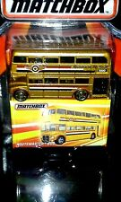 MATCHBOX 2016 BEST OF...SERIES 1   ROUTEMASTER BUS   (GOLD) ADULT COLLECTIBLE