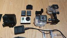 GoPro Hero3+ Black Edition Camcorder - Silber/Schwarz, mit Zubehörpaket
