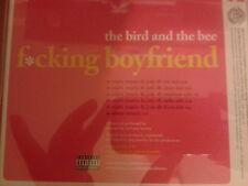 The Bird & The Bee - F*cking Boyfriend Remixes CD single PROMO 2006 MINT jody