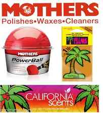 Mothers Power Ball  Polishing Tool With California Scent Freshener