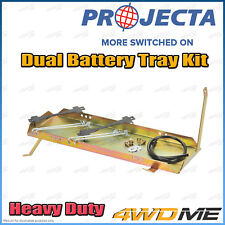 Mitsubishi Triton ML MN 4WD PROJECTA Dual Battery Tray Auxiliary Complete Kit