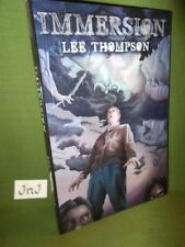 LEE THOMPSON IMMERSION FIRST EDITION POCKET SIZED PAPERBACK CHAPBOOK UNREAD