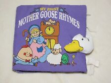 Softplay Soft Play Cloth Baby Book My First Mother Goose Rhymes Activities