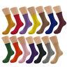 1 Pair Random Color Women Socks Solid Color Business Casual Cotton Socks