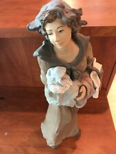 Lladro 1767 Motherly Love, Goyescas, gres, very rare, 22 inches, sold out L.E
