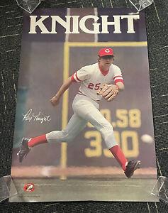 "Ray Knight Cincinnati Reds original SGA poster 1980 24x36"""