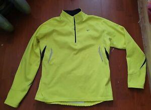 PEARL IZUMI Select Men's Yellow Thermal Cycling Long Sleeve Jersey - XL