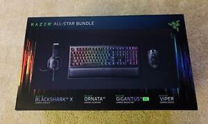 Razer All-Star Gaming Bundle    Keyboard Mouse Pad Headset   
