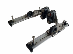 Port and Starboard Jib Track Cars For Sailing Dinghy Boat