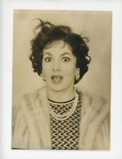 Gina Lollobrigida, actrice Italienne née le le 4 juillet 1927 à Subiaco Vintage